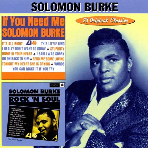 Solomon �� �� Go On Back To Him by Solomon Burke on @PandoraMusic https://t.co/AdKCspJZx8 https://t.co/BMi0yM8qOQ