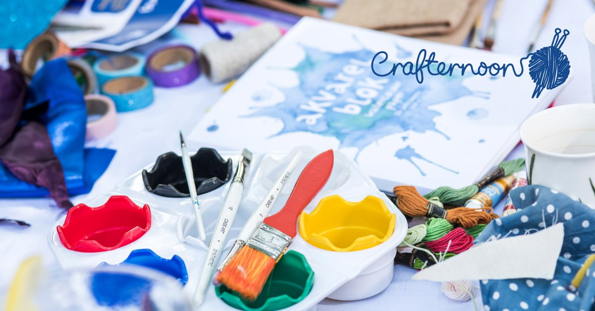 We know that getting creative can have a positive impact on your mental health. Why not boost your mood and raise money for better mental health at the same time? Sign up for your free Crafternoon pack today > bit.ly/2tglIW6