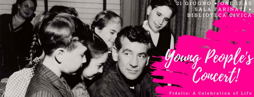 """Oggi per la #festadellamusica e in occasione delle celebrazioni del centenario di Leonard #Bernstein proietteremo il docufilm della CBS """"YOUNG PEOPLE\"""