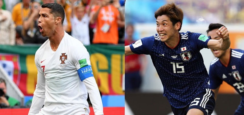 Cristiano Ronaldo #POR Yuya Osako #JPN Shinji Kagawa #JPN The @TournoiToulon former players found the net during the last games of the #WC2018 ! ⚽️ Recap ▶️festival-foot-espoirs.com/en/festival/de… #WorldCup