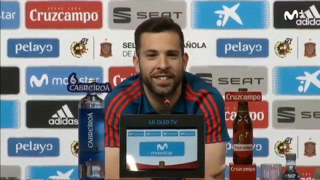 Esperad un poco a darnos palos, no empecéis ya, por favor, Jordi Alba