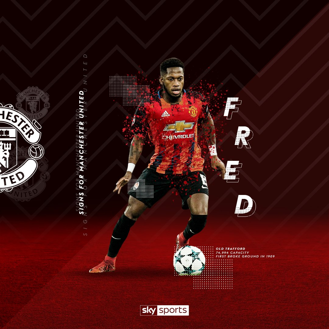 🔴 Fred is officially a Red 🔴   📲 https://t.co/q8a805WgBv