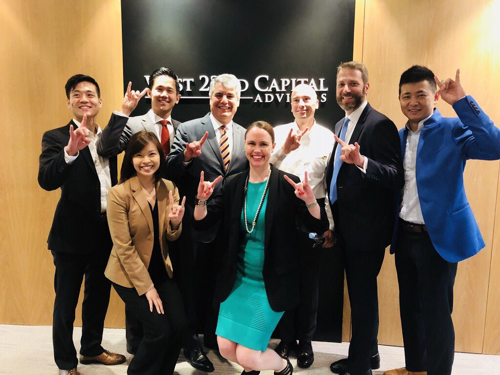 Excellent ideas from @UTAustin alumni in Hong Kong to strengthen Longhorn presence in this great city. Thanks to Chris Shen and Jeffrey Lin for hosting at #west22capital (as in 22nd between San Gabriel and Pearl) <br>http://pic.twitter.com/wfL5SaBWvW
