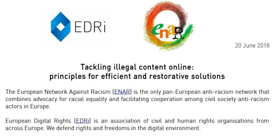 Edri On Twitter The Anti Racism Digital Rights Community Came