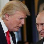 Путина и Трампа Twitter Photo