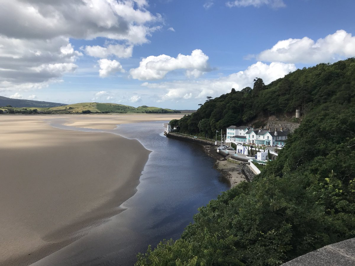 Our next stop on #TheWalesWay as we celebrate the #SummerSolstice on the coast is @Portmeirion. Anyone fancy a dip in the sea then a game of chess? #FindYourEpic #VisitWales