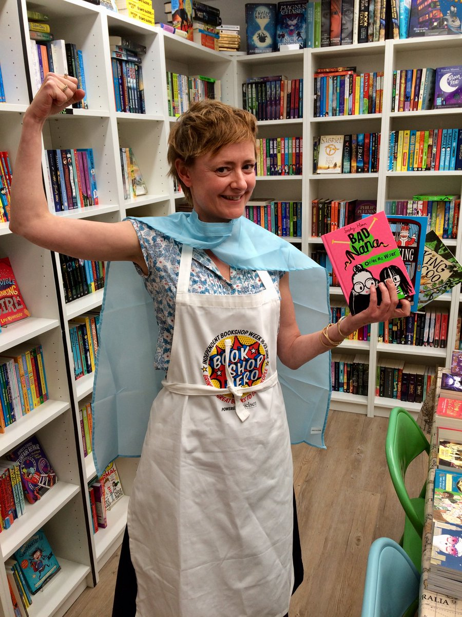 Our fourth #IBW2018 Alligators Mouth #bookshop hero is... Margaret! Her long list of superpowers includes championing her favourite early reader books and masterminding author/illustrator events in the shop and local schools - such as our one with @sophyhenn on Fri 22nd at 4pm!