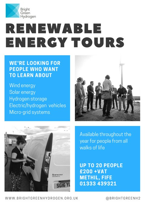Image for Ever wondered what goes on with @brightgreenH2 in Levenmouth?  They now offer tours so get in touch to see some cutting edge technology in action! https://t.co/ClpFpi5Jgd