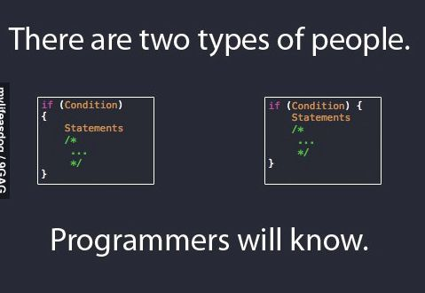 There are two types of people. Programmers will know!   #javascript #node #nodejs #webdev #angularjs #vuejs #coding #webdesign #js #sql #mobiledev #reactjs #jquery #es6 #gamedev<br>http://pic.twitter.com/fy6AczpkQ9