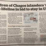 The Home Office has signalled it'll make it easier for Chagossian children to get UK citizenship. This is a welcome step. @amcarmichaelMP has rightly called the treatment of the Chagos islanders 'a scar on our country's history'