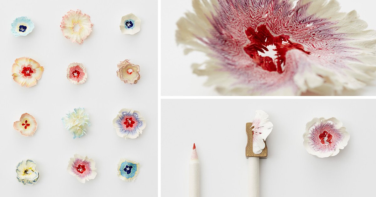 Science art tiny paper flowers inspired by pencil shavings via science art tiny paper flowers inspired by pencil shavings https mightylinksfo