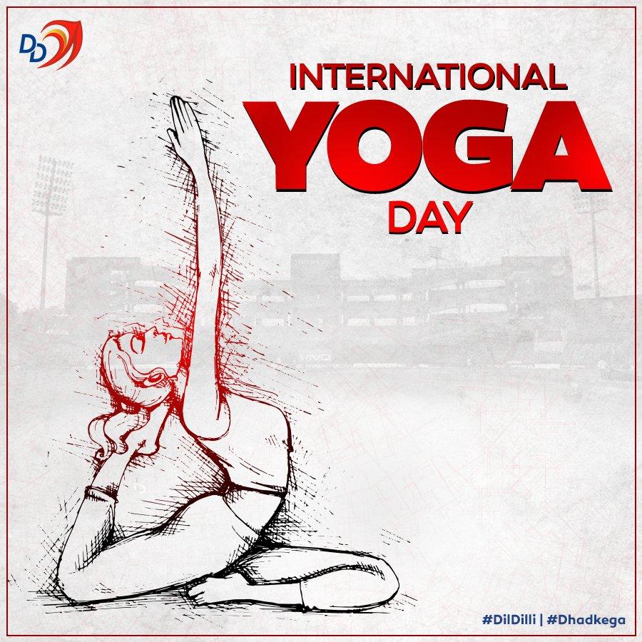 Happy International Yoga Day Yoga Journey Dd Wishes Happy International Yoga Day Internationalyogaday Dildilli Dhadkega Delhi Capitals Scoopnest