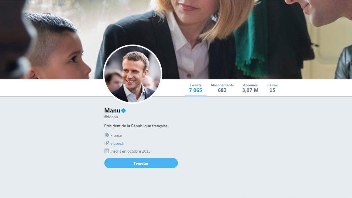 """Une extension Chrome remplace automatiquement """"Emmanuel Macron"""" ou """"Monsieur le Président"""" par """"Manu"""" sur les pages internet: https://t.co/Wq9NtLf3NR"""