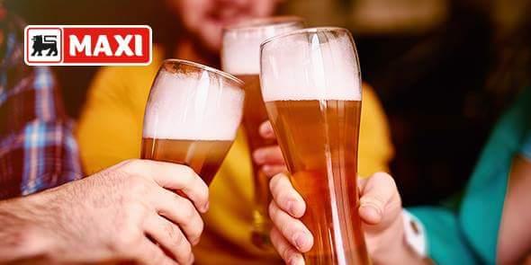 Spremite se za vikend, počastite sebe pšeničnim pivom! U Maxiju na akciji! #maxi #pšenično #pivo https://t.co/fWBjbJbqaP