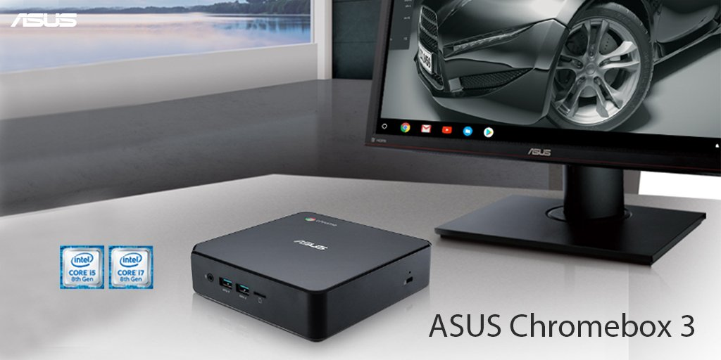 Asus asus twitter chromebox 3 features the latest 8th generation intel core processor for more efficient performance and a versatile usb 31 gen 1 type c port fandeluxe Image collections