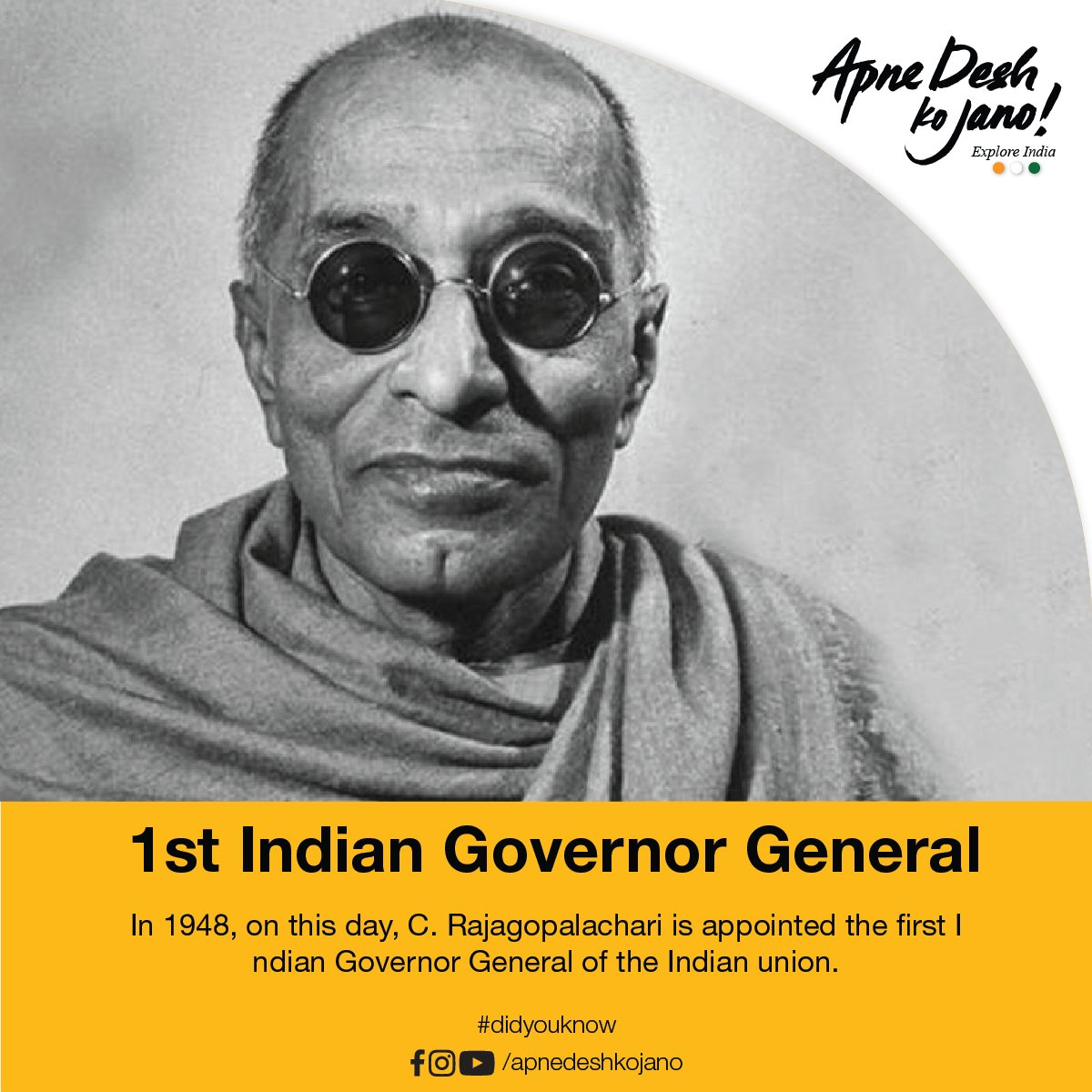 first indian governor general of india