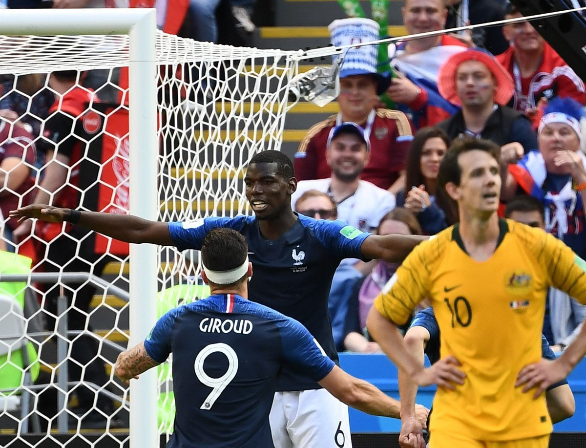 1 - L'Australie n'a gardé sa cage inviolée qu'à une seule reprise lors de ses 14 dernières rencontres de Coupe du Monde, c'était face au Chili en 1974 (0-0). Poreux. #DANAUS #CM2018