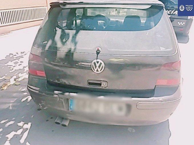 Dotación del Grupo GESC ha detenido en San Ginés al conductor de un turismo que carecía de carné de conducir. Además, se ha inmovilizado el turismo. Un peligro menos en la carretera, que tengas un #FelizJueves Photo