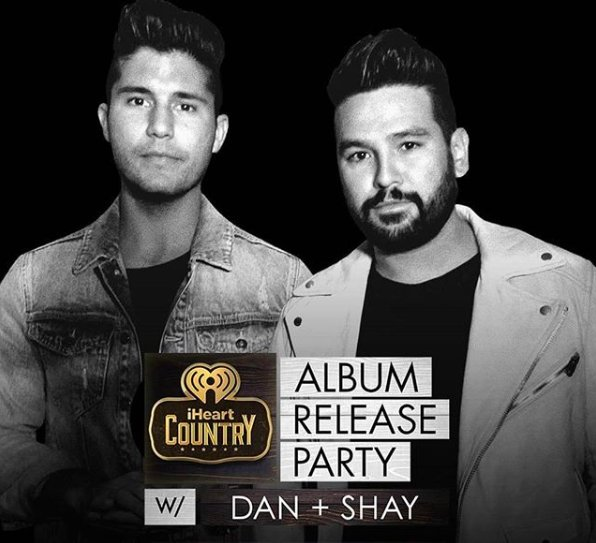 Tune in LIVE from 9am AEST for @DanAndShay&#39;s exclusive #iHeartCountry album release party!   Watch it here   http:// bit.ly/DanShayiHR  &nbsp;  <br>http://pic.twitter.com/WTiVJNg6jK