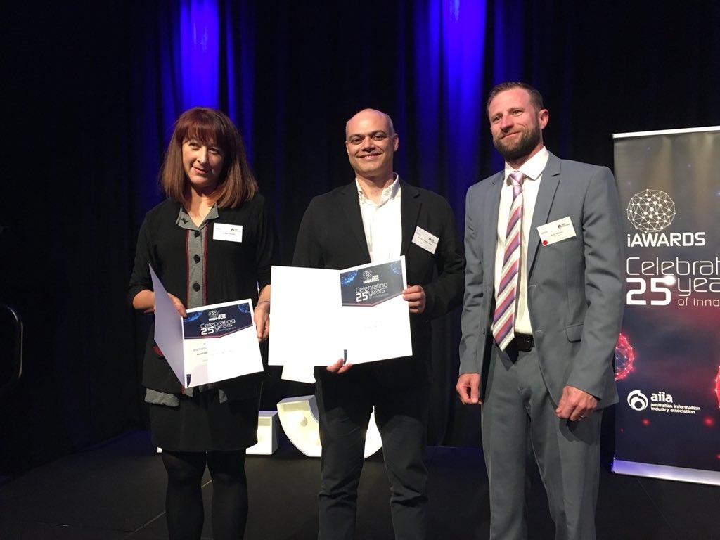 #TechSperts @ehealthresearch @CSIROnews with their #iAwards Merit for their #Mobile-Pulmonary Rehabilitation #Platform (m-PR)! #mHealth #HealthApp #eHealth #DigitalHealth<br>http://pic.twitter.com/WO94vaezXJ