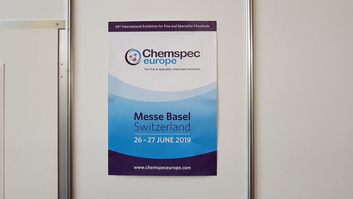 Chemspec Europe on Twitter: