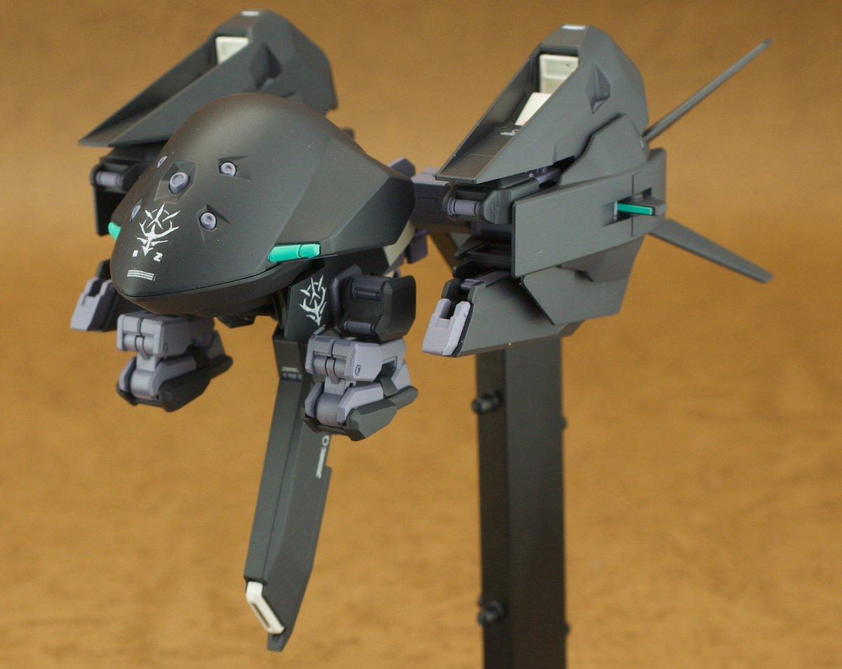 HGUCウーンドウォート完成しました レジオン鹵獲カラーで製作しました