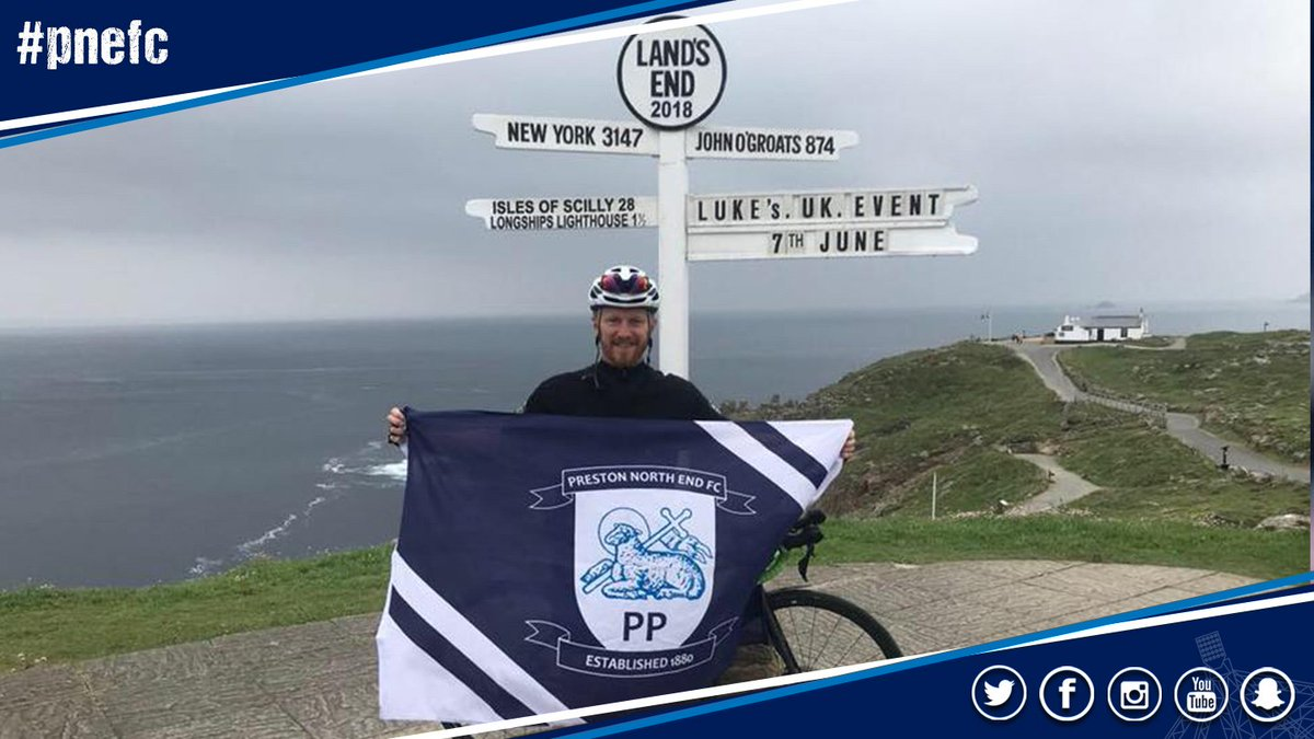 🚴‍♂️ Today is the final day of @LukesUKEvent as Luke looks to finish his 14th marathon in 14 days after already completing his cycling challenge. Keep going Luke! 👊 You can support Luke by donating to @ProstateUK ➡️justgiving.com/fundraising/lu…