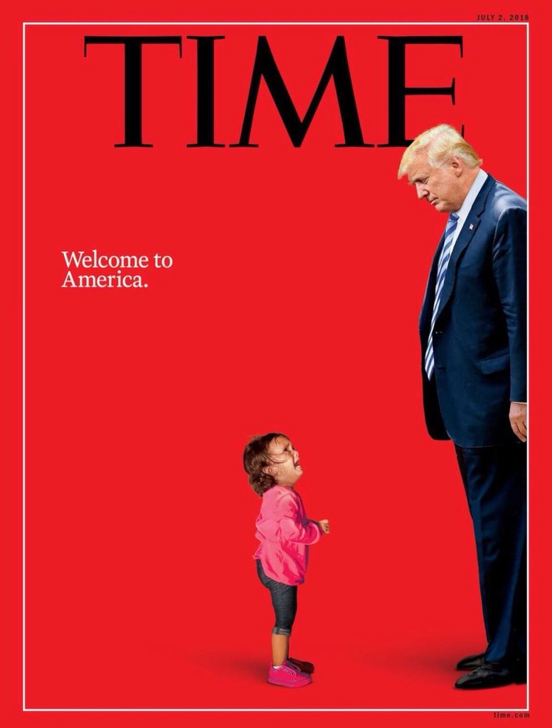 Time Magazine. Welcome to America.