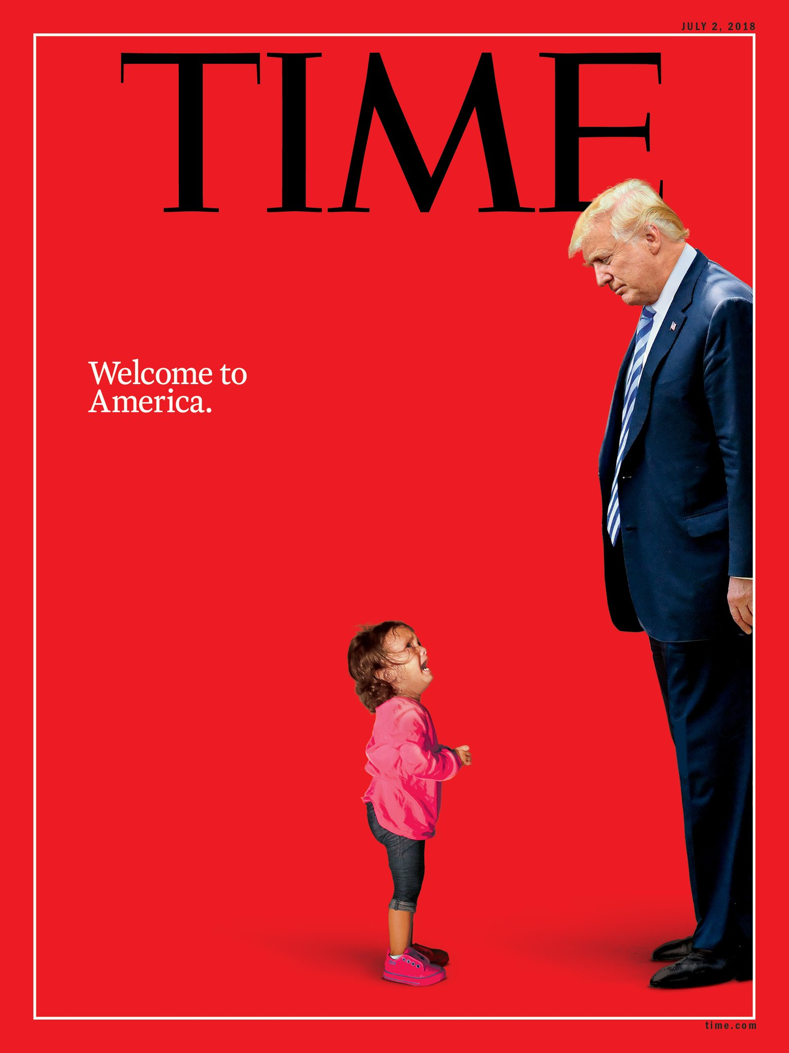 The July cover of @TIME:   'Welcome to America.'   https://t.co/Oc8MS8zijI https://t.co/Rk7TWJ3ELO