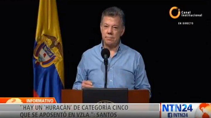 �� [#VIDEO] Santos pide a la OEA intervenir en Venezuela y Nicaragua https://t.co/Zj8oG40d6W https://t.co/y97HOb7270
