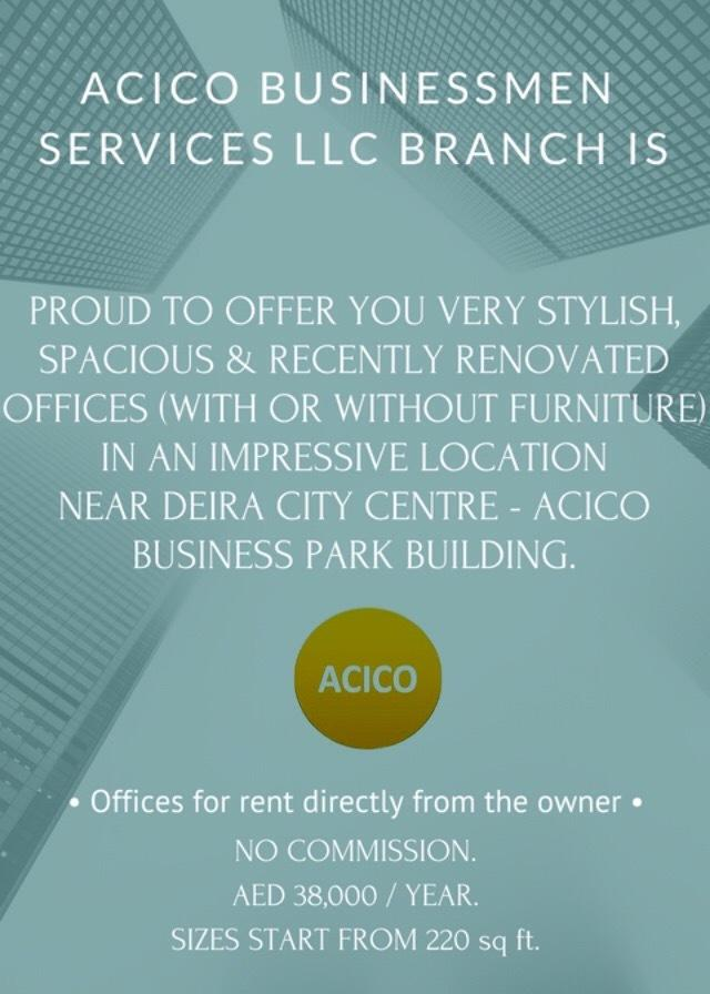 ACICO BUSINESSMEN SERVICES L L C  BRANCH (@AcicoBusiness) | Twitter