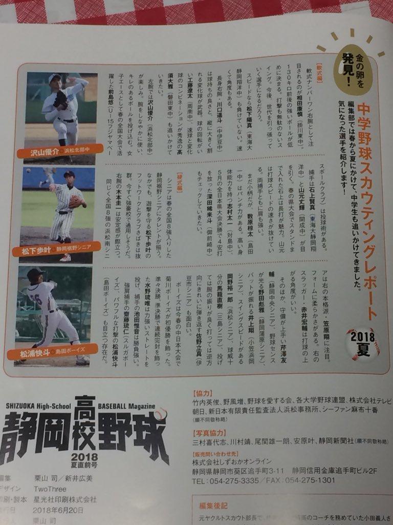 スカウティング レポート 静岡