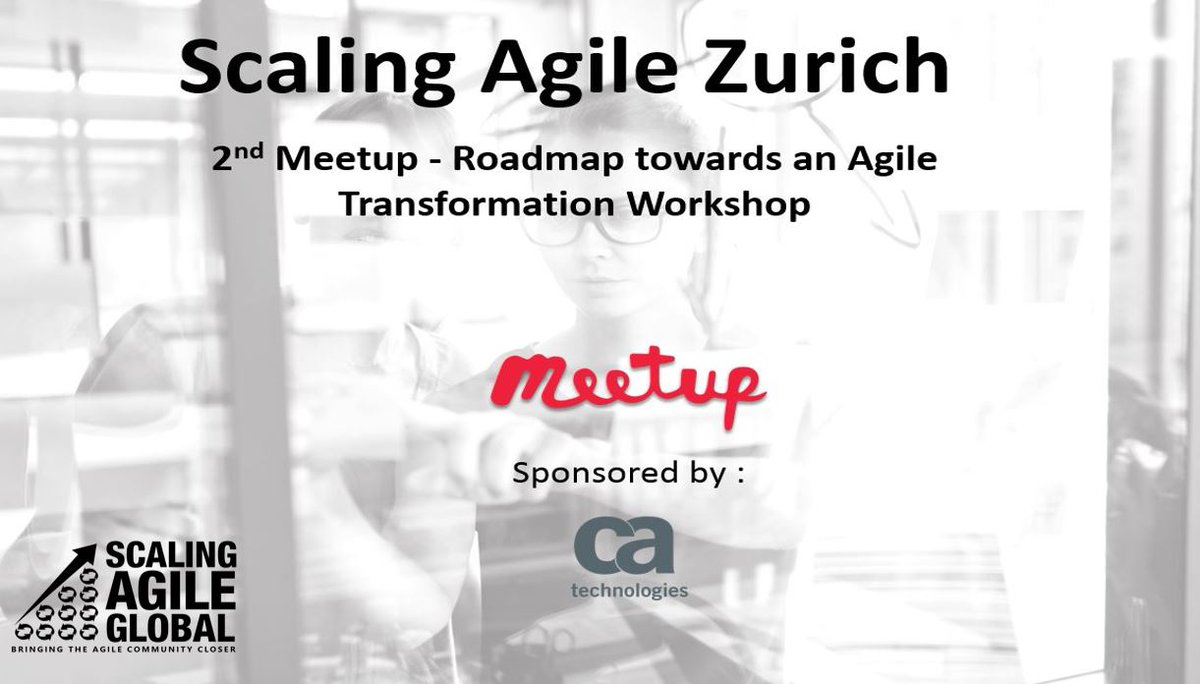 Make Sure To Register At Meetup Pro Scaling Agile Global ScalingAgile Roadmap Meetuppictwitter VeVl9o0qjR
