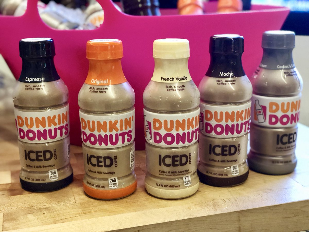 Weve Got Dunkindonuts Here Sampling Dunkinbottleservice Dunkin Donuts Bottled Iced Coffee In The Garage Surprise Caffeine Icedcoffee