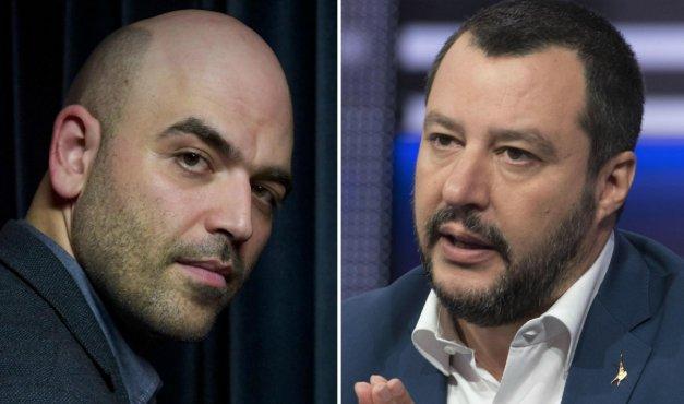 L'ossessione di Matteo #Salvini (e della destra) per la scorta di Roberto #Saviano @mauromunafo https://t.co/BEWdMpPzal