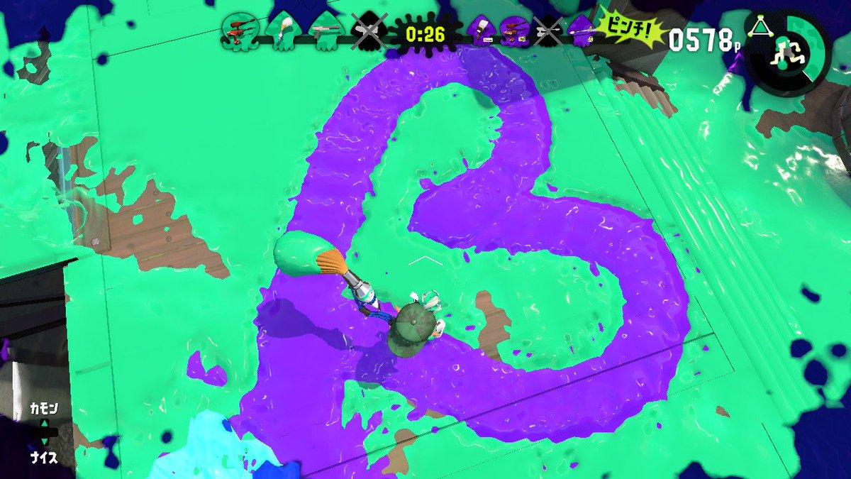 めちゃ綺麗に♡描いてくれたやつ... #Splatoon2 #スプラトゥーン2 #NintendoSwitch