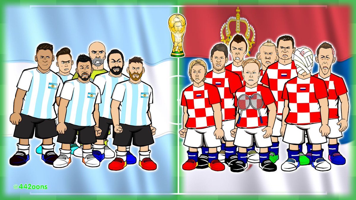 442oons on twitter predictions for argentina v croatia