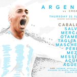 Up next, @willy_caballero for #ARG!    Good luck, Willy! #WorldCup