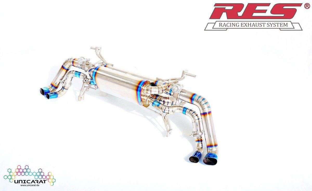 f8972df6ecd896 RES Racing Exhaust System Titanium Audi R8 Klappenauspuff Abgasanlage.  Gewicht nur 8.5 kg anstatt 32 kg. Ab sofort auf www.  https   t.co zCdxNf7mlP ...