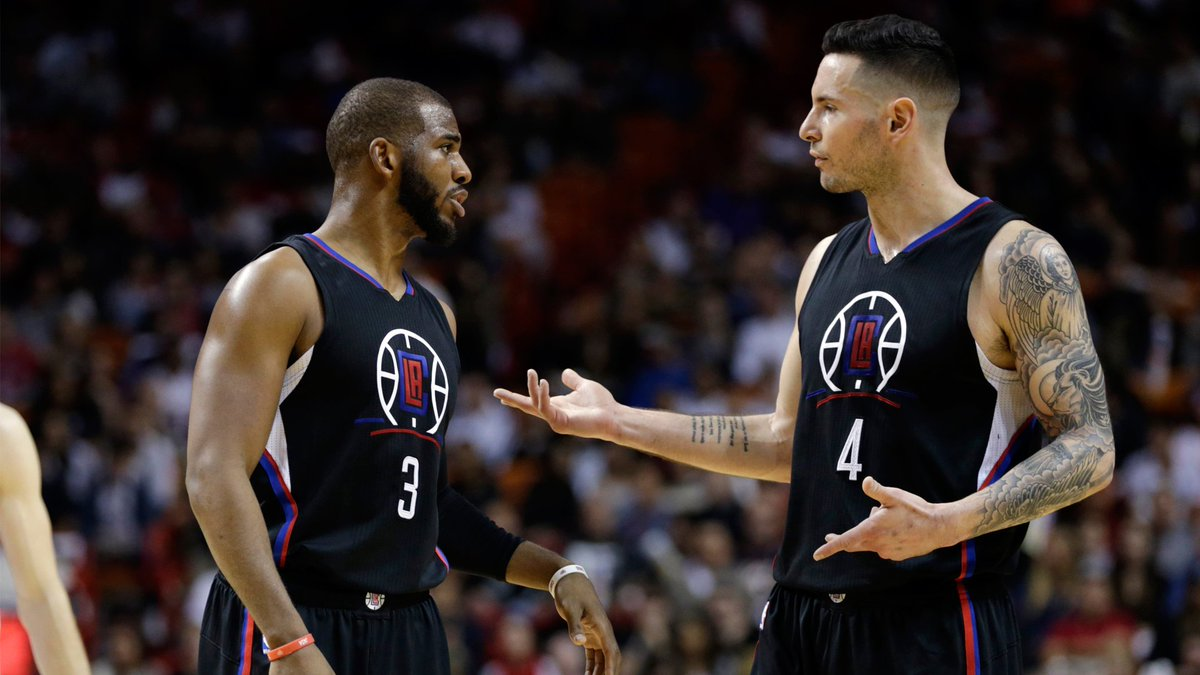 JJ Redick loves Chris Paul, but hes got some bulls**t with his game bit.ly/2JYB8bE