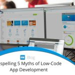 Beyond the need for speed, there are various other benefits of low-code development, but many are still skeptical of low-code platforms. In this article, we discuss five assumptions of low-code app development. https://t.co/zQBSGTfWHx #lowcode #appdev