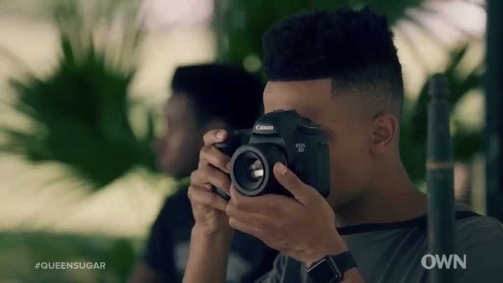 Micah with his camera is a beautiful storyline! Loving it! #QueenSugarRewatch