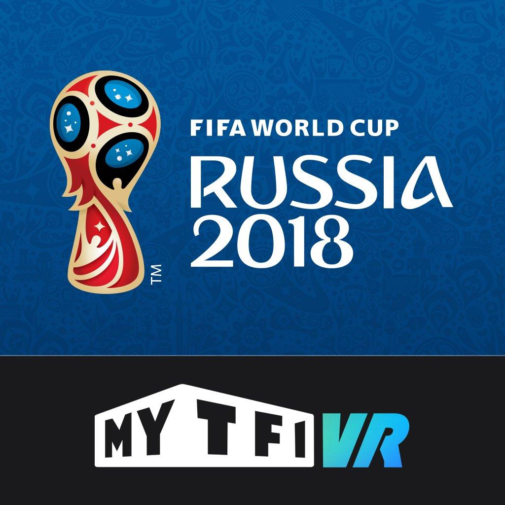 Envie de vivre la #CM2018 dans une autre dimension ? L'Application MYTF1 VR : Coupe du Monde de la FIFA™ vous permet de vivre l\