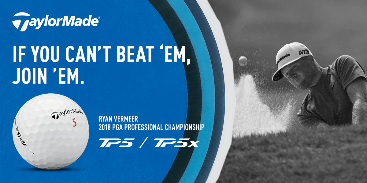 Ryan Vermeer put his trust in #TP5x at the #PGAProChamp and took home the title. #5WITCH