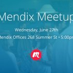 "It's almost time for our 2nd Mendix Boston Meetup! This time, we'll hear from one of our Enterprise Architects, @jaspervdhoek, on ""Navigating the Microservices Maze with Mendix."" You don't have to know how to code to join this event! https://t.co/b9ZANnN2Ht #MxMeetup"