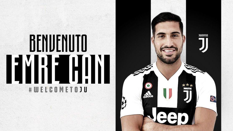 🔴 OFFICIEL ! Emre Can (libre de tout contrat) s'engage avec la Juventus.
