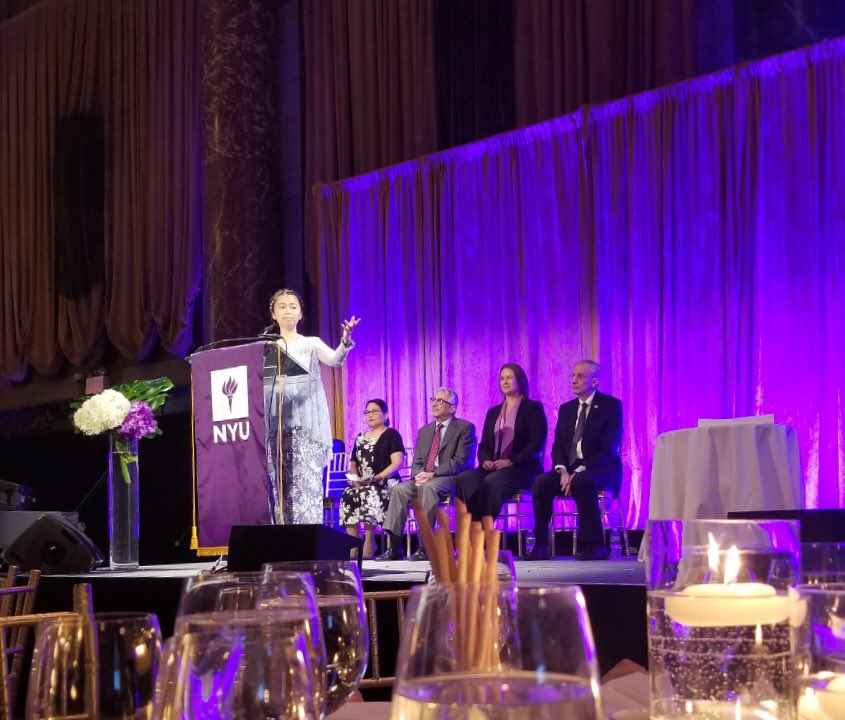 Congrats to Dr. Dhanny Medianti and the @nyudental International Class of 2018 at the International Programs Certificate Ceremony yesterday!  #NYUInternational #CongratAGradNYU <br>http://pic.twitter.com/KR5i8bbJWT &ndash; à Cipriani 42nd Street
