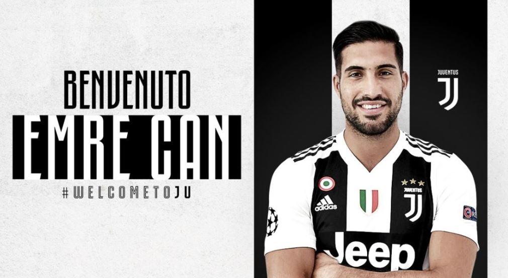 OFFICIEL✅  Emre Can vient de s'engager avec la Juve.
