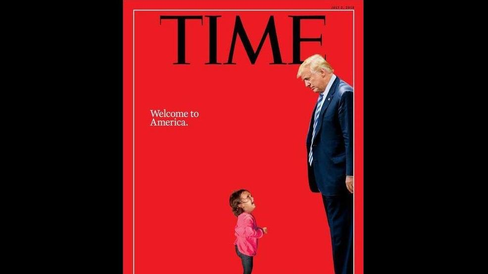 New Time cover depicts Trump with crying child amid controversy over family separation https://t.co/UOuEp7T1VV