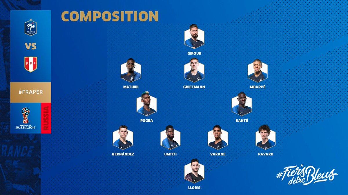 La composition de l'Equipe de France ! #FRAPER